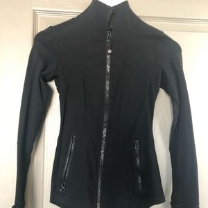 Lululemon black define jacket size 2
